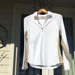Greg Norman Solar XP active long sleeve play shirt